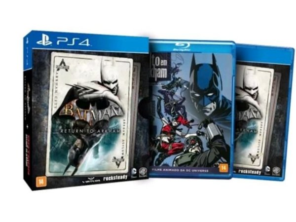 Batman Return To Arkham 2 Em 1 Ps4 - Midia Fisica
