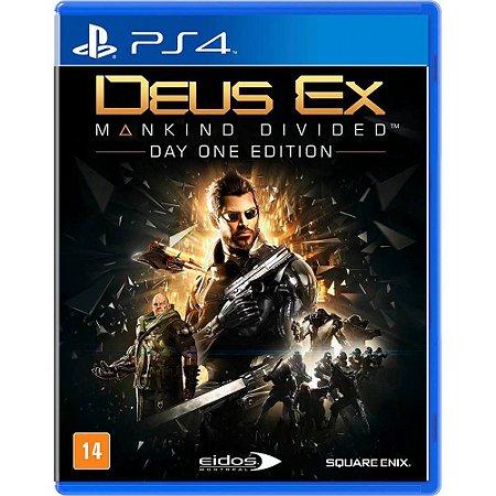 Game - Deus Ex: Mankind Divided - PS4