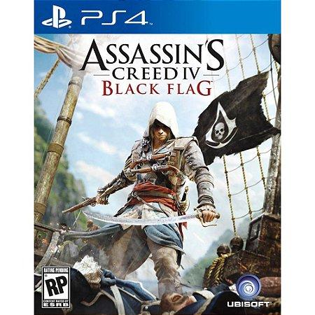 Game - Assassin's Creed IV: Black Flag (Versão em Português) - PS4