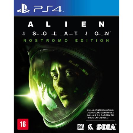 Game - Alien Isolation - Nostromo Edition - PS4