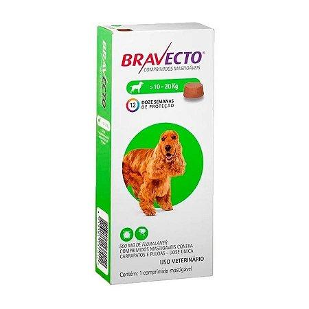 Bravecto Oral (10 a 20 Kg)