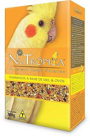 NuTrópica Calopsitas Farinhada à base de Mel e Ovos 300g