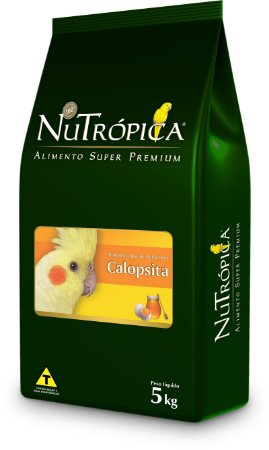 NuTrópica Calopsitas Farinhada à base de Mel e Ovos 5Kg