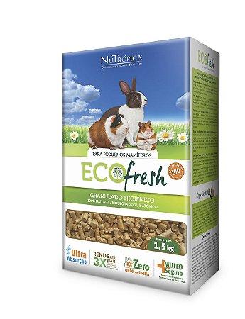 NuTrópica EcoFresh Granulado Higiênico para Pequenos Mamíferos 1,5Kg