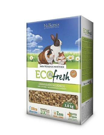 NuTrópica EcoFresh Granulado Higiênico para Pequenos Mamíferos 3Kg