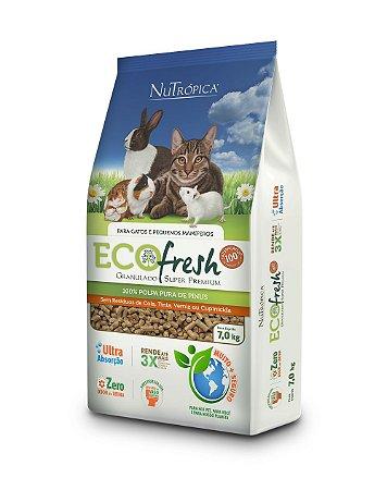 NuTrópica EcoFresh Granulado Higiênico para Gatos 7Kg