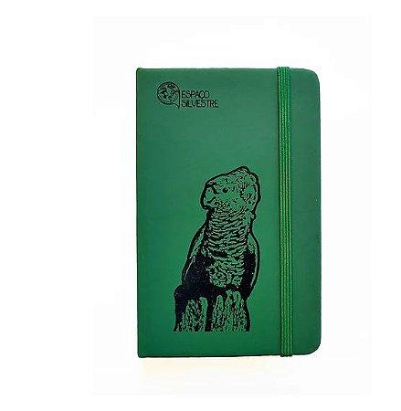 Caderneta Espaço Silvestre Verde