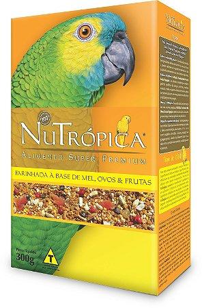 NuTrópica Papagaios Farinhada à base de Mel, Ovos e Frutas 300g - VALIDADE 18/07/2019