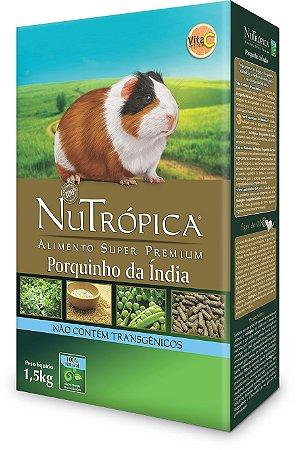 NuTrópica Porquinho da Índia 1,5Kg - VALIDADE: 17/02/2020
