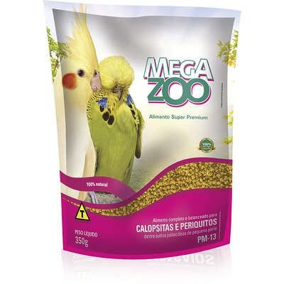 Megazoo Calopsita e Periquito (PM-13) 350g