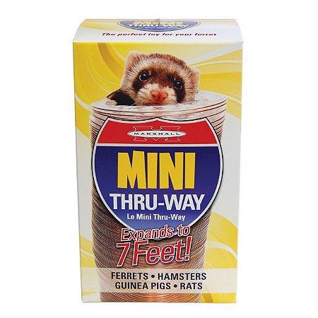 Tubo para Ferrets Mini Thru Way Marshall