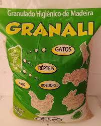 Granulado Sanitário de Madeira Granali 4 Kg