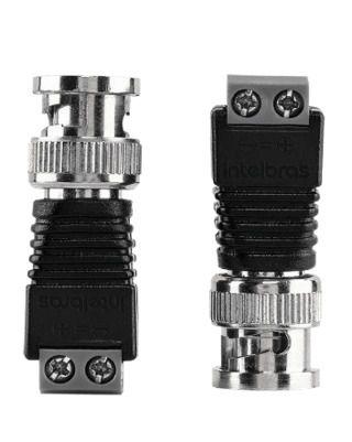 Conector BNC de vídeo macho Intelbras