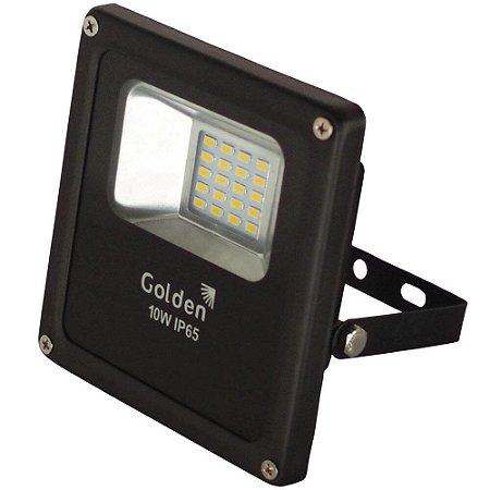 REFLETOR LED FIT ULTRALED 10W LUZ BRANCA BIVOLT IP66