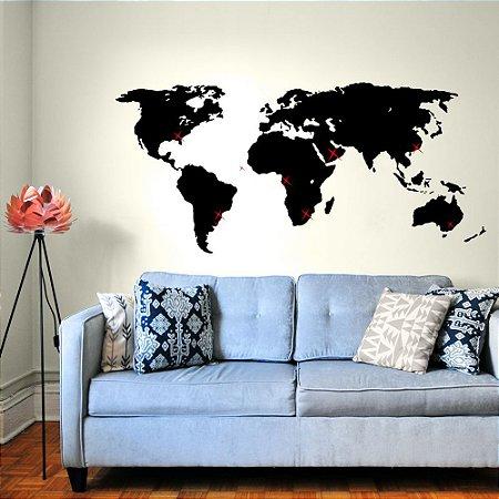 Mapa Meus Destinos