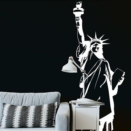 Adesivo de Parede - Statue of Liberty