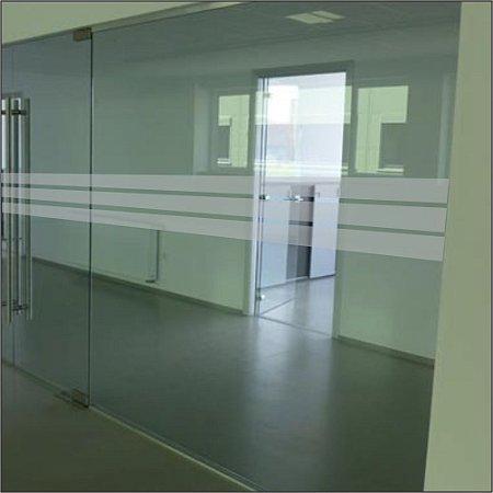 Adesivo Sinalizador de Porta - Listras