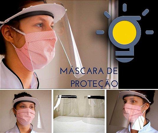 Máscara de Proteção Face Shield (Fabricação Própria)