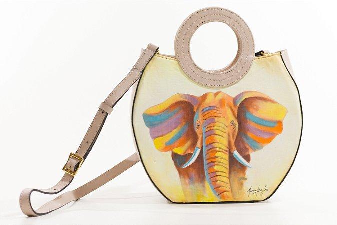 Bolsa AANIS Arte Mid Elefante Nude