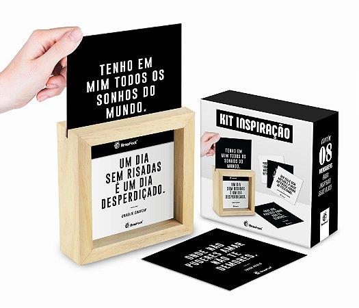 QUADRO CARDS MENSAGENS - FRASES FAMOSOS
