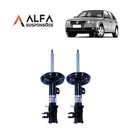 KIT DIANTEIRO DE AMORTECEDORES ESPORTIVOS VW GOL G1 a G4 *COM TELESCÓPIO* (1995/2010)