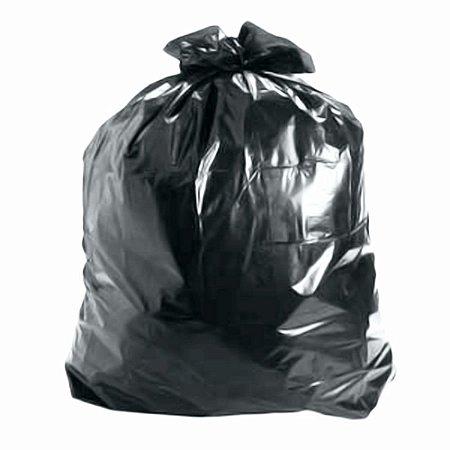 Saco de Lixo 30 Litros Preto