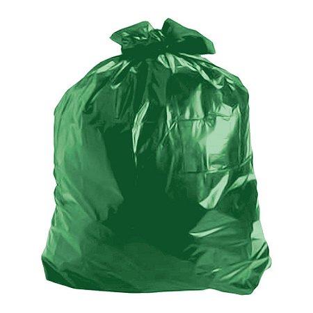 Saco de lixo 60 Litros Verde