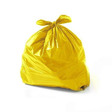 Saco de Lixo 15 Litros Amarelo