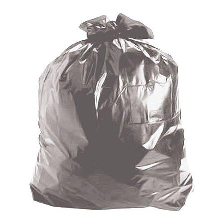 Saco de Lixo 100 Litros Cinza