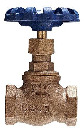 "Válvula Globo Bronze 3/4"" - Fig. 101"