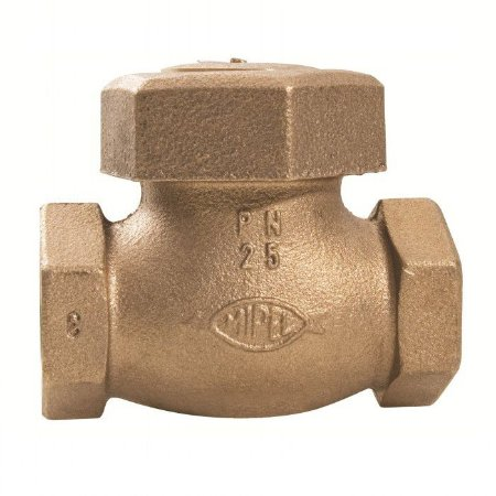 """Válvula de Retenção Horizontal Bronze Pistão 1"""" - Fig. 046"""