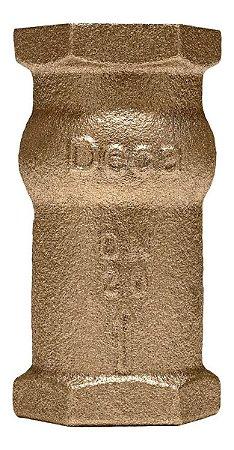 """Válvula de Retenção Vertical Bronze 1/2"""" - Fig. 447"""