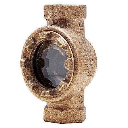 "Visor de Fluxo Bronze 1"" - Fig. 088"