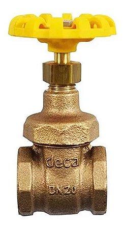 """Válvula Gaveta Bronze 3/4"""" - Fig. 1502 B"""