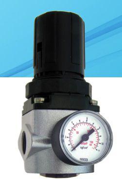 regulador de pressão médio 1/2 com manômetro