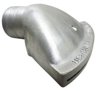 esguicho bico de pato alumínio 2''
