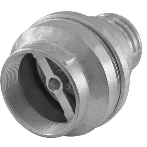 válvula de retenção fundo de poço alumínio  1/2''
