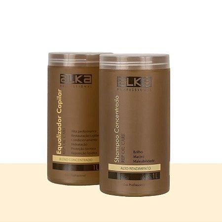 Kit Equalizador e Shampoo Concentrado