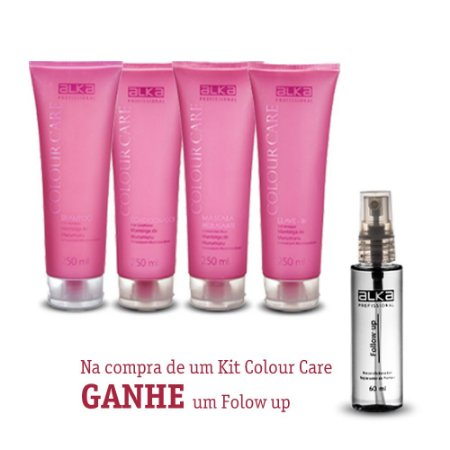 Kit Manutenção Colour Care 250ML Alka - Ganhe um Follow up