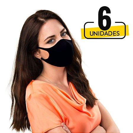 Mascara Lavável  Antiviral com Ions de Prata - 6 Unidades