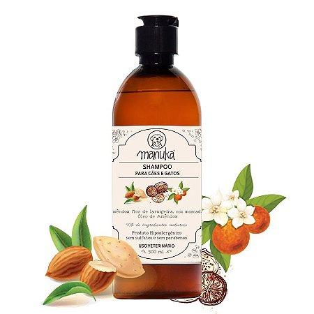 Shampoo Amêndoa Hipoalergênico, sem parabenos e sem sulfatos 500 ml