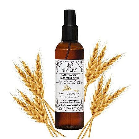 Banho a Seco Aveia Orgânica para acalmar a pele Hipoalergênico, sem parabenos e sem sulfatos