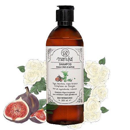 Shampoo Figo Hipoalergênico com complexo de ômegas, sem parabenos e sem sulfatos 500 ml