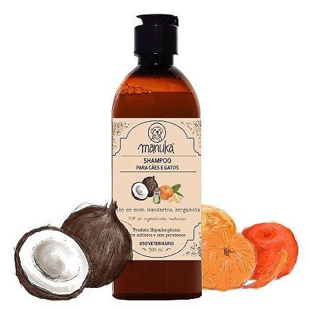 Shampoo Óleo de Coco Hipoalergênico, sem parabenos e sem sulfatos