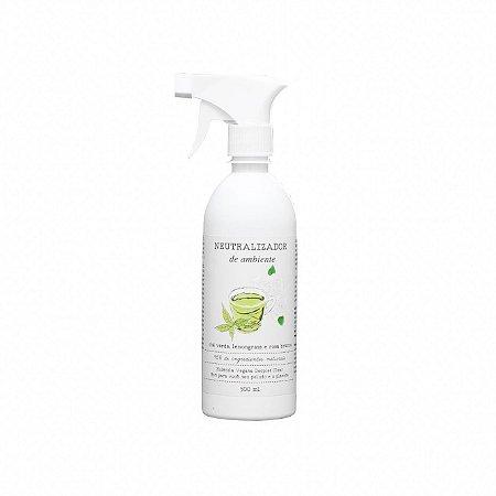 Neutralizador de odores e Aromatizador de ambientes de Chá Verde e Rosas Brancas