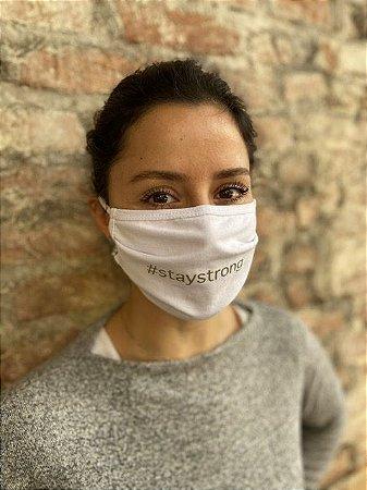 Máscara de Proteção #staystrong Pacote com 3