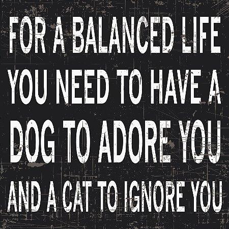 Placa Balanced Life