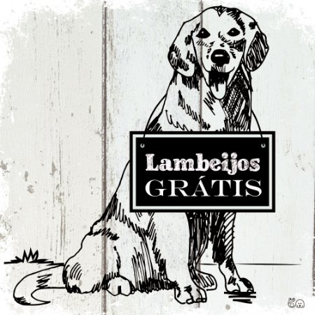 Placa Lambeijos Grátis