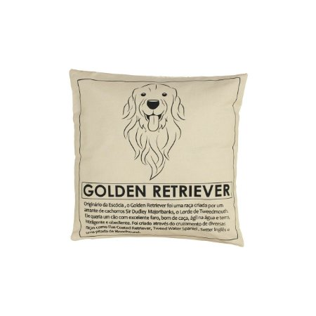 Almofada Golden Retriever