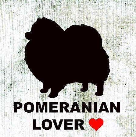 Placas de Lulu da Pomerania e Spitz Alemão